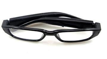 Kamera- Gläser mit klare Linsen , Spy Cam Brillen , High Definition (HD ) , 720p + Free Tutorial Video Kurs + 8GB Karte - 3