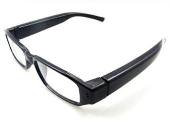 Kamera- Gläser mit klare Linsen , Spy Cam Brillen , High Definition (HD ) , 720p + Free Tutorial Video Kurs + 8GB Karte - 4