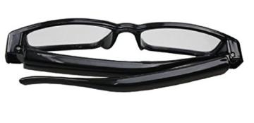 Kamera- Gläser mit klare Linsen , Spy Cam Brillen , High Definition (HD ) , 720p + Free Tutorial Video Kurs + 8GB Karte - 5