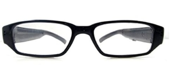 Kamera- Gläser mit klare Linsen , Spy Cam Brillen , High Definition (HD ) , 720p + Free Tutorial Video Kurs + 8GB Karte - 6